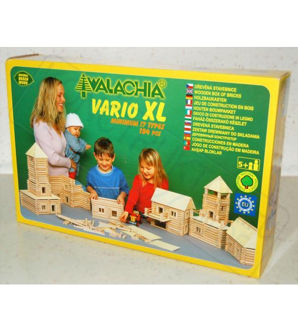 Конструктор деревянный VARIO XL 184шт.