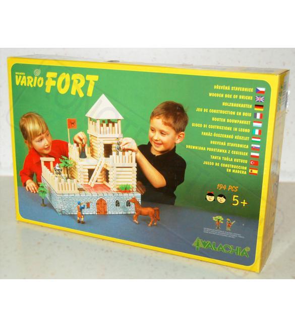 Конструктор деревянный VARIO Fort 194шт.