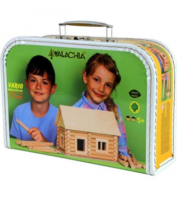 Конструктор деревянный VARIO Small Suitcase 72шт.