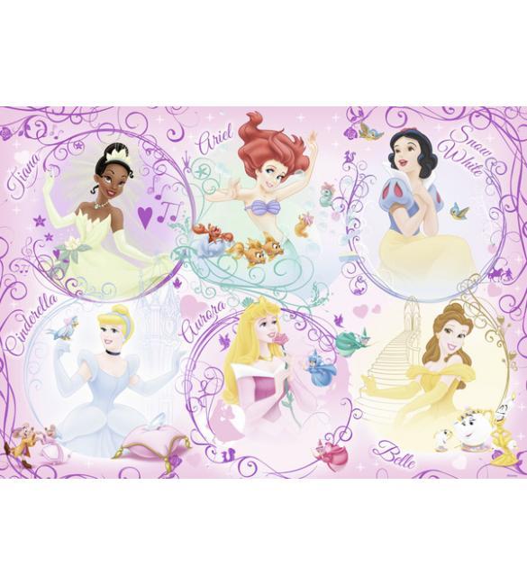Пазлы Диснеевские принцессы 60