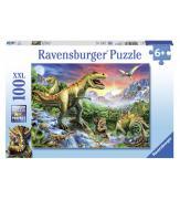 Пазлы Время динозавров 100