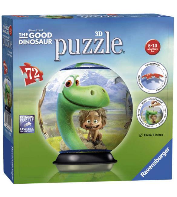Пазл-шар Добрый динозавр