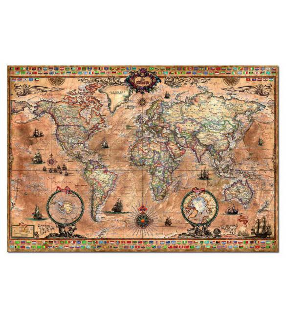 Пазлы Карта антического мира 1000