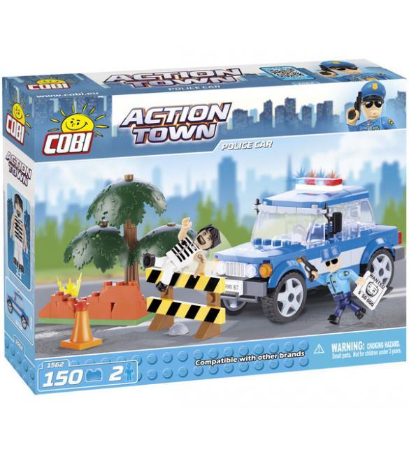 Конструктор Action Town - Полицейская машина