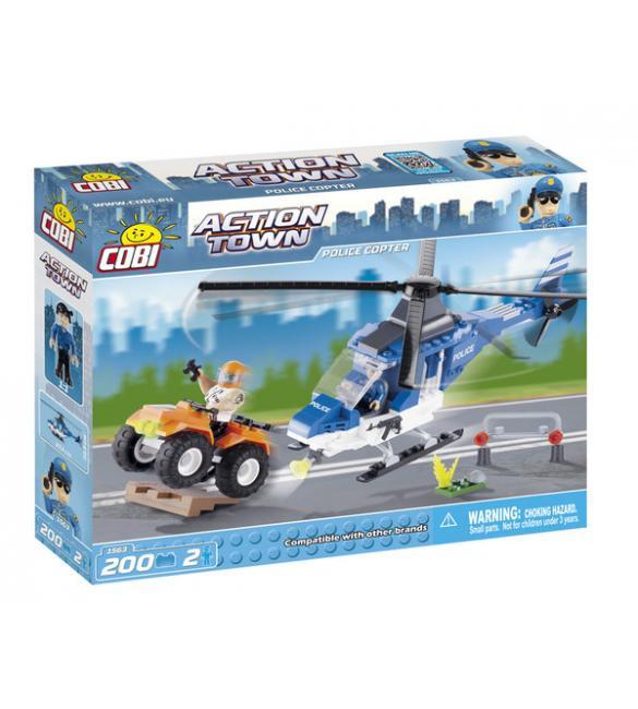 Конструктор Action Town - Полицейский вертолет