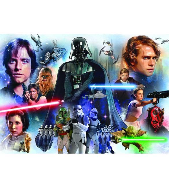 Пазлы Звездные войны 3000