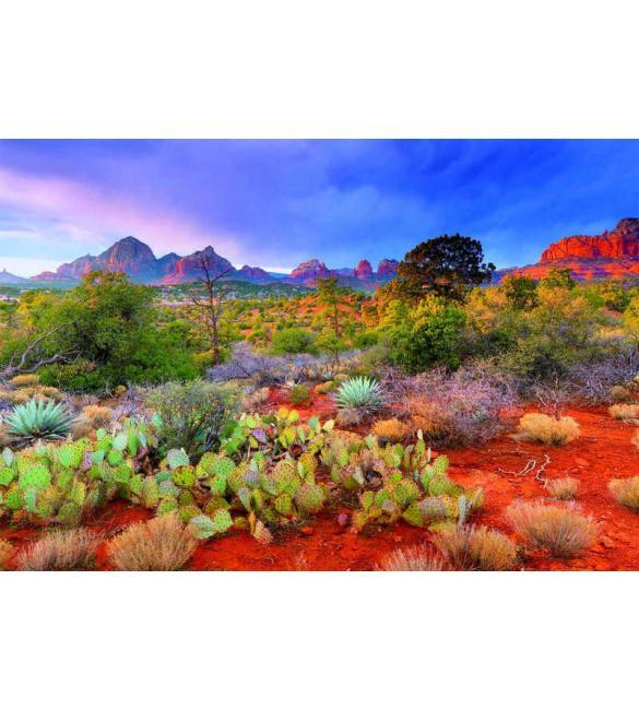Пазлы Закат в Ред Рокс, Аризона США 4000