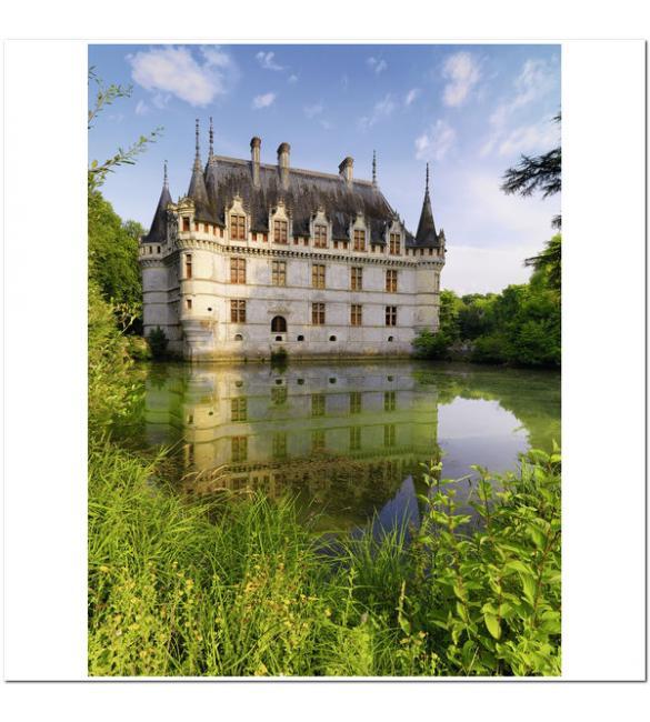 Пазлы Замок Азе-ле-Ридо, Франция 1500