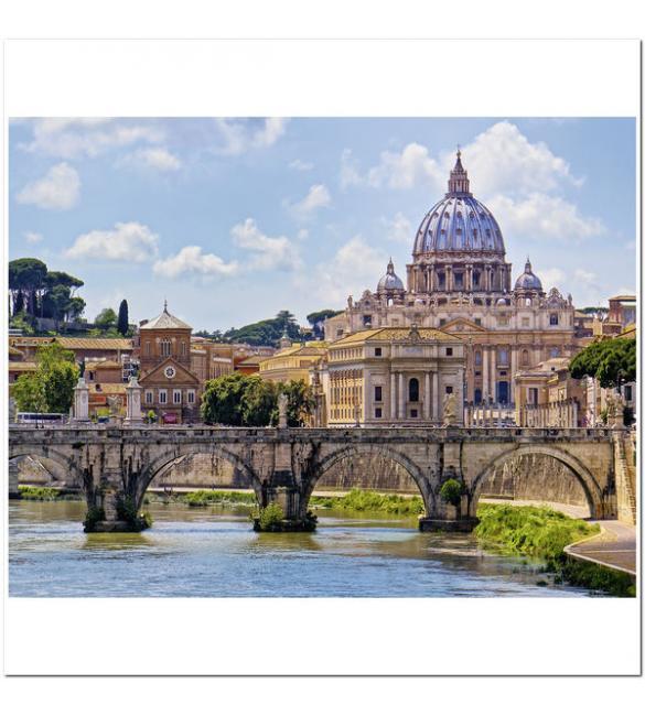 Пазлы Мост Ангелов, Рим 2000