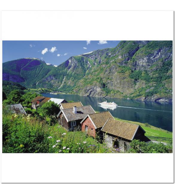Пазлы Согне-фьорд, Норвегия 3000