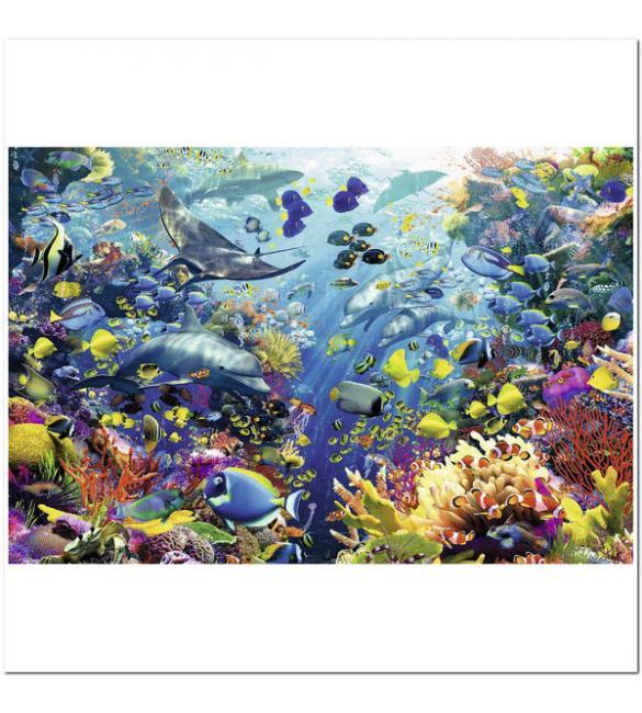 Пазлы Райский подводный уголок 3000