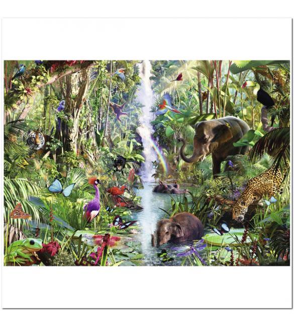 Пазлы В джунглях 9000