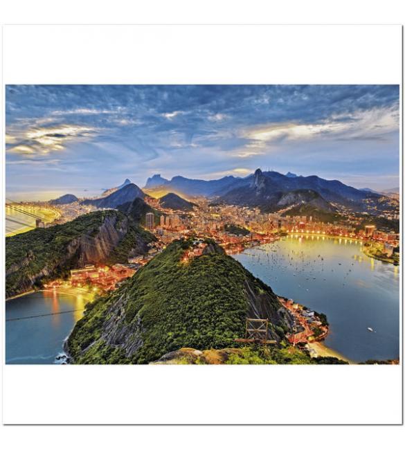 Пазлы Залив Гуанабара, Рио-де-Жанейро 1000