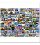 Пазлы 99 волшебных мест мира 1000