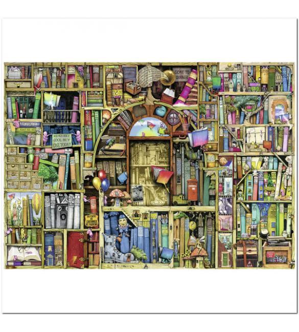 Пазлы Причудливый книжный магазин №2 1000