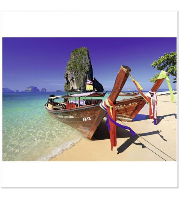 Пазлы Лодки на Карибах 1000