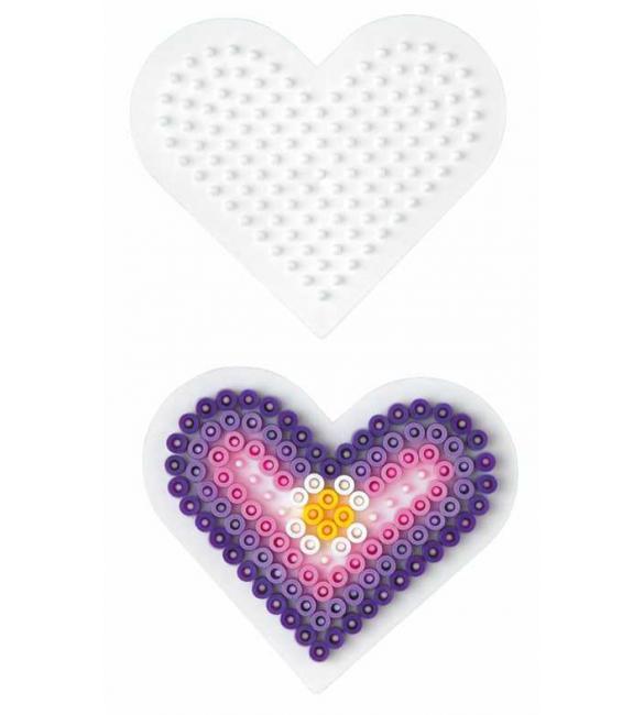 Поле для термомозаики Маленькое сердце 5+