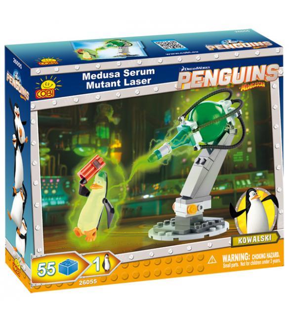 Конструктор Cobi Пингвины - Мутирующий лазер Медузы