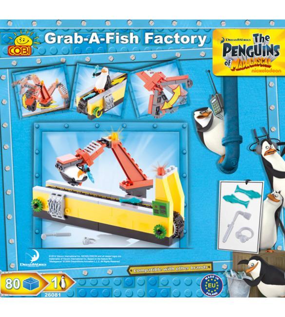 Конструктор Cobi Пингвины - Конвейер - время для рыбки