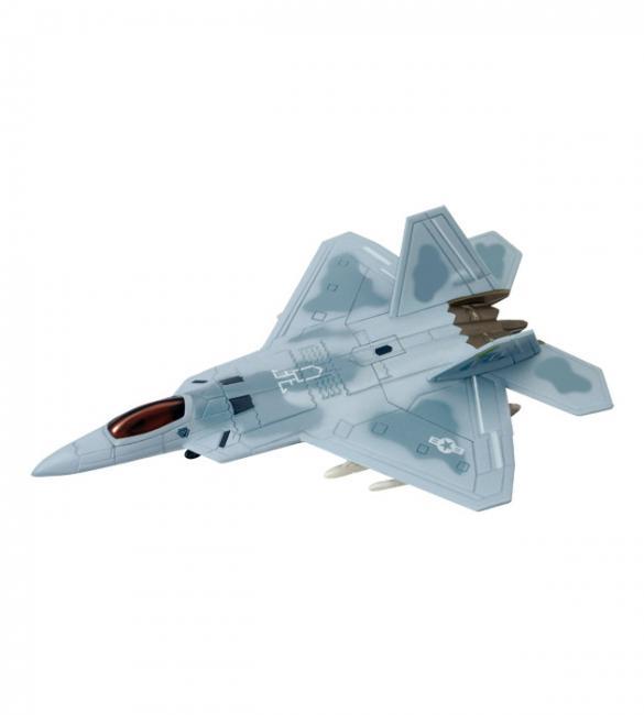 Объемный пазл Истребитель много целевой F-22A Raptor (Ящер)