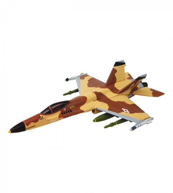 Объемный пазл Истребитель F/A-18C Desert Hornet (Шершень пустыни)