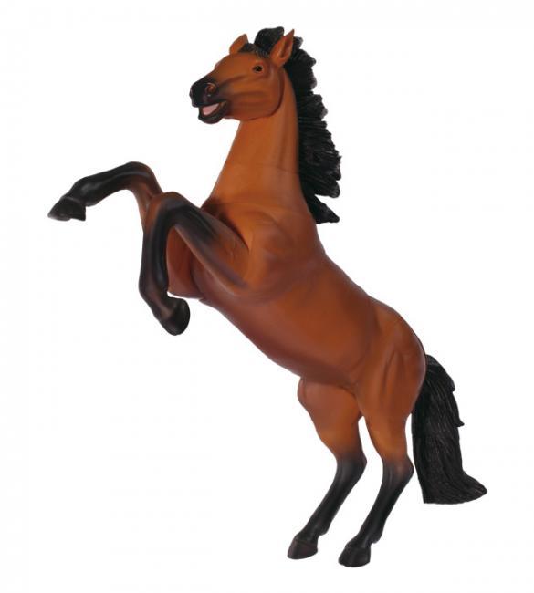 Объемный пазл Скачущая коричневая лошадь