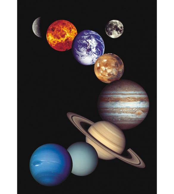 Пазлы Солнечная система 1000
