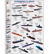 Пазлы Подводные лодки 1000