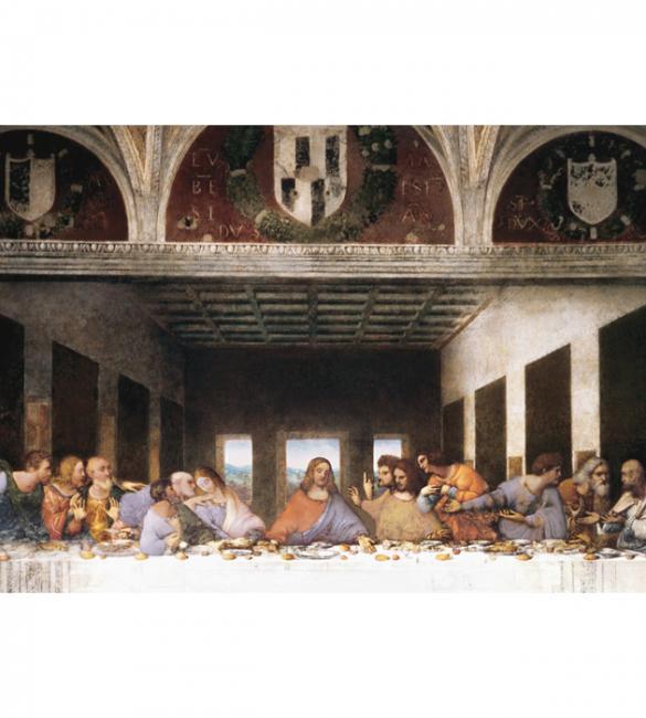 """Пазлы """"Тайная вечеря"""" Леонардо да Винчи 1000"""