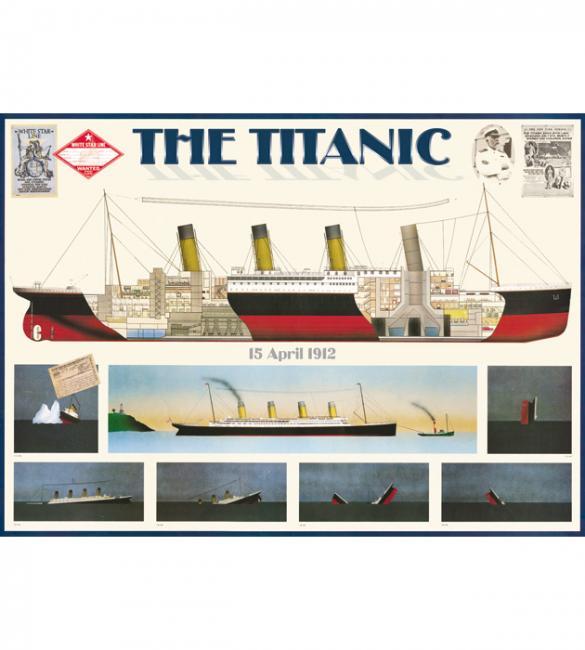 Пазлы Титаник 1000