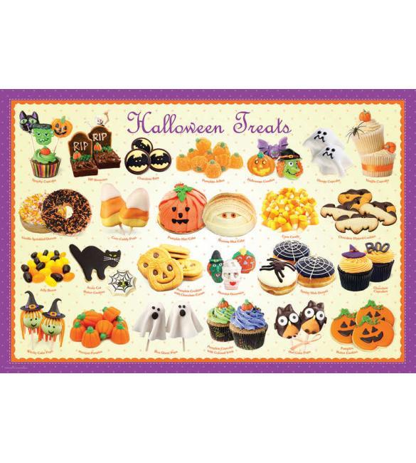 Пазлы Угощения на Хеллоуин 100
