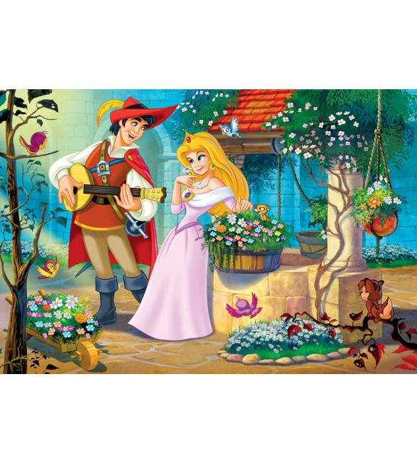 Пазлы Песня для Принцессы 100