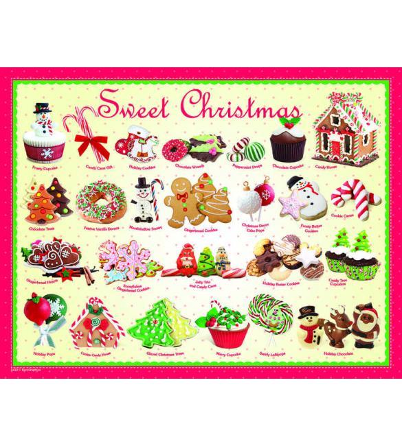 Пазлы Рождественские угощения №2  100