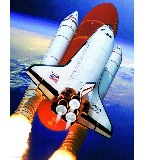 Пазлы Космический шаттл Атлантис 100