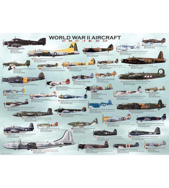 Пазлы Самолеты 2-й Мировой войны 300