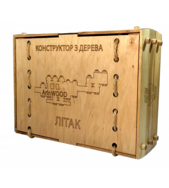 Конструктор деревянный Самолет
