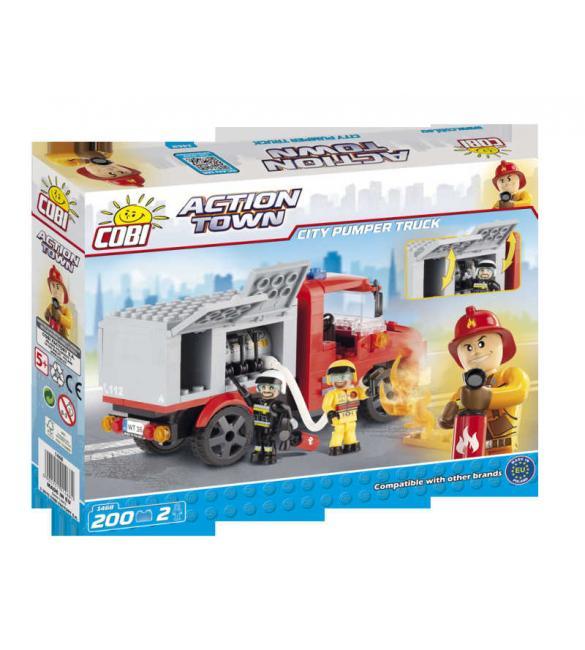 Конструктор Action Town - Пожарная насосная машина