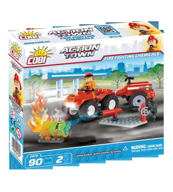 Конструктор Action Town - Пожарный квадроцикл