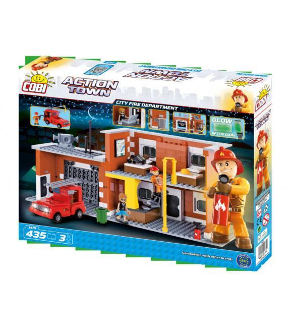 Конструктор Action Town - Большая пожарная станция