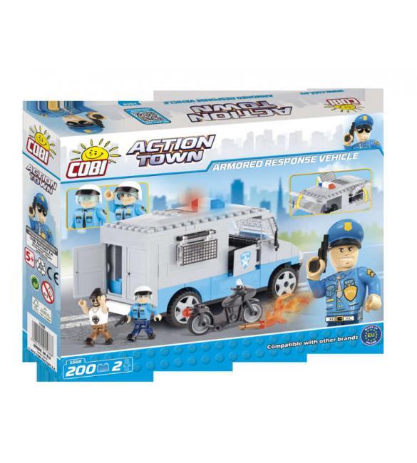 Конструктор Action Town - Бронированная полицейская машина