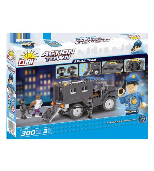 Конструктор Cobi Action Town - Полицейское спецподразделение