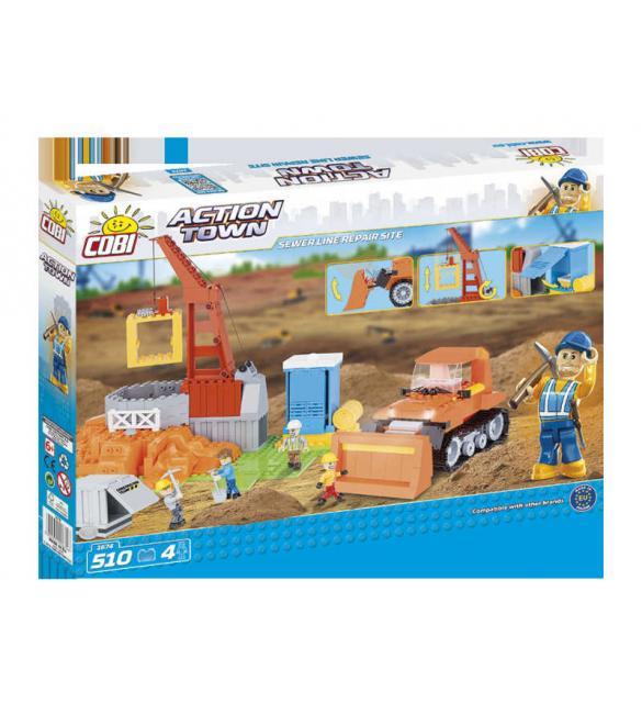 Конструктор Action Town - Большое строительство