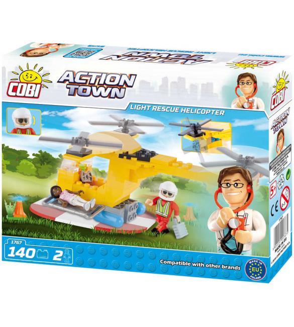Конструктор Cobi Action Town Легкий спасательный вертолет