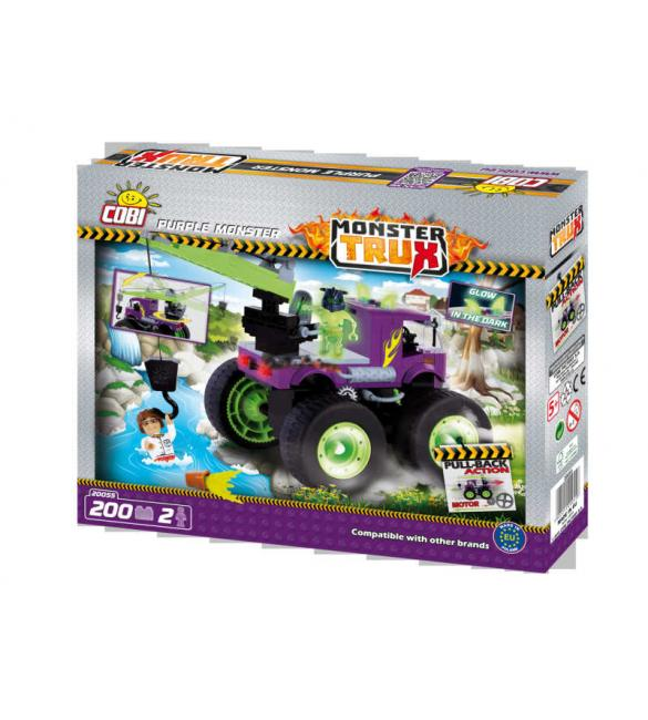 Конструктор Cobi Monster Trux - Фиолетовый монстр