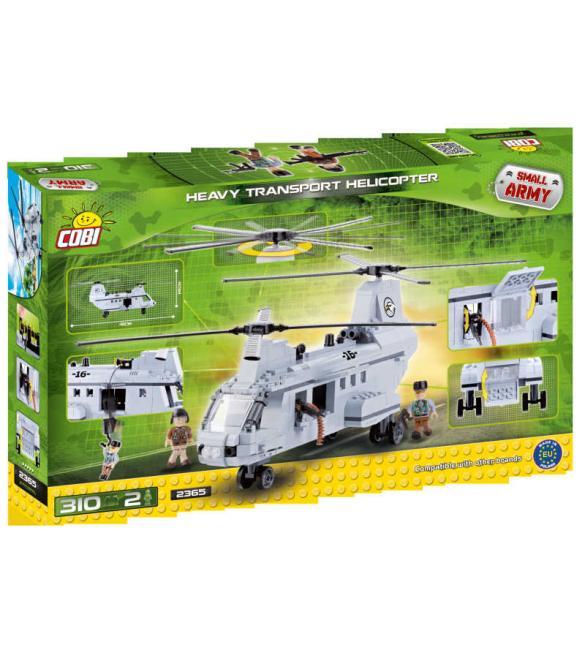 Конструктор Cobi Small Army - Тяжелый транспортный вертолет