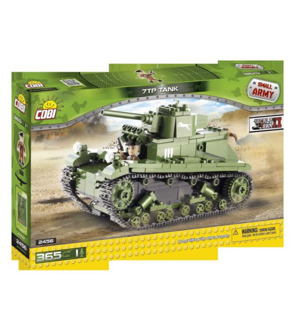 Конструктор Cobi Small Army WWII - Легкий танк 7 TP