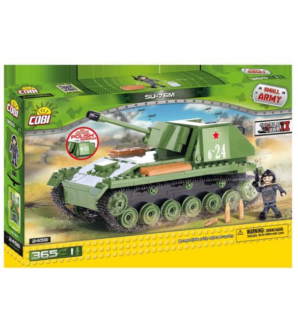 Конструктор Cobi Small Army WWII - Самоходно-артилерийская установка СУ-76