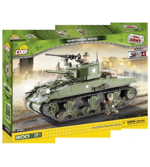 Конструктор Small Army WWII - Танк М-4 Sherman (США)