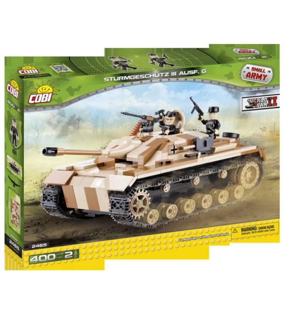 Конструктор Cobi Small Army WWII - Самоходно-артилерийская установка StuG III