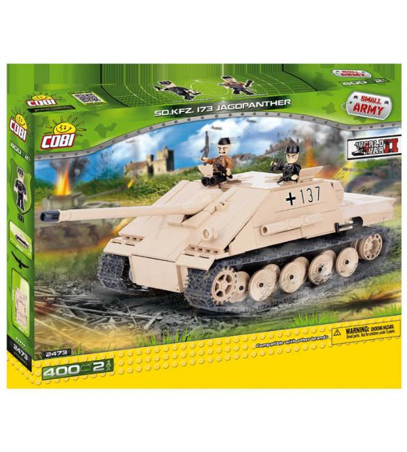 """Конструктор Cobi Small Army WWII - Самоходно-артилерийскач установка """"Ягдпантера"""""""